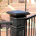"""Custom cast iron post at the new VCU Student Center.  Foundry pattern and castings by O. K. Foundry Co. Inc.  <a href=""""http://www.okfoundry.com"""" rel=""""nofollow"""">www.okfoundry.com</a>."""