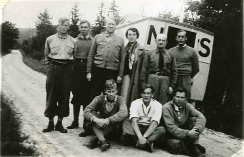 Propagandatur i Telemark, 1936.