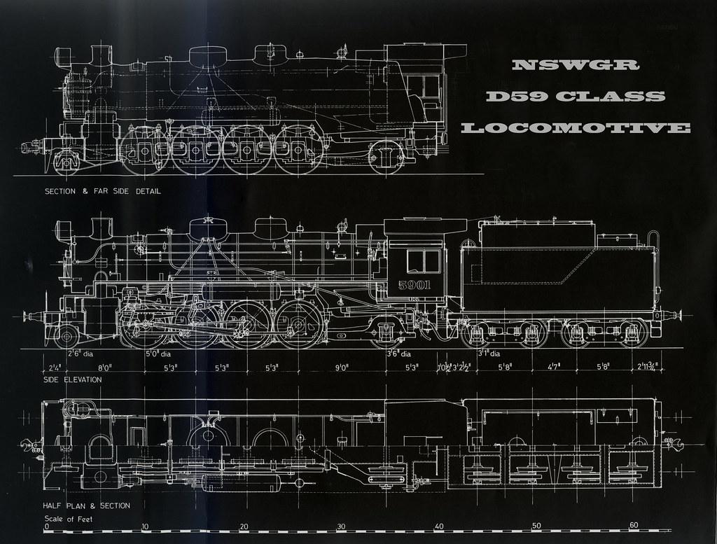 NSWGR Class 59 Locomotive by my happy snapper