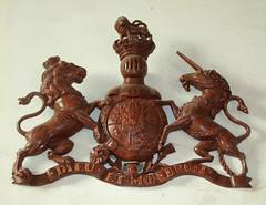 cast iron George IV royal arms