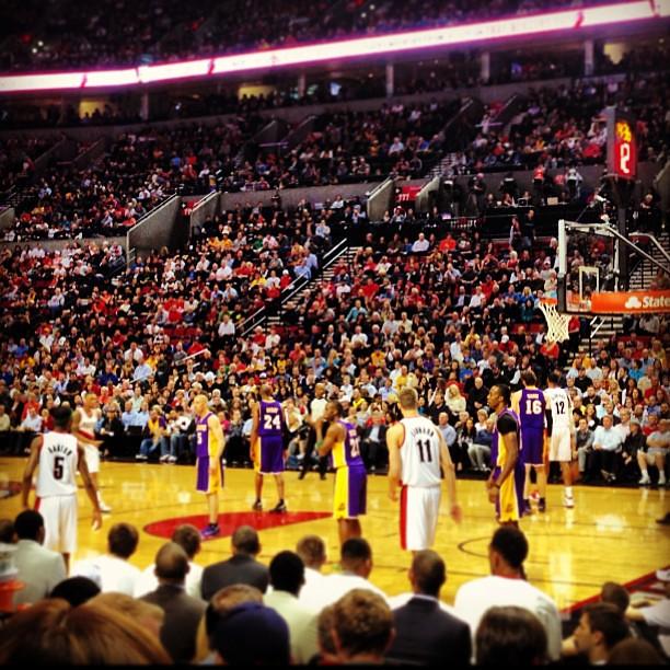 Blazers Vs Lakers: Blazers Vs Lakers #lakers#blazers#basketball#ripcity @illf