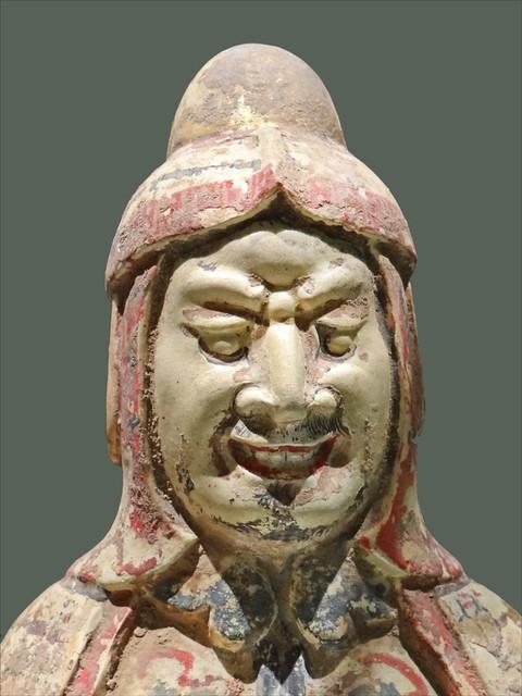 Gardien de tombe (musée Cernuschi)