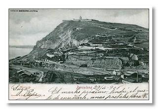 Montjuïc mountain 1905