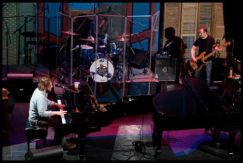 Marco Benevento  at WWOZ's Piano Night.  Photo by Ryan Hodgson-Rigsbee www.rhrphoto.com