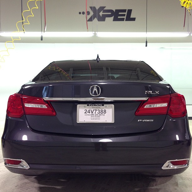 2014 #Acura #RLX In For #XPEL Paint Protection. More Pics