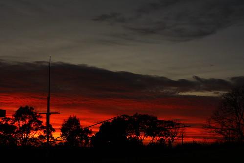 sky dawn redsky urunga