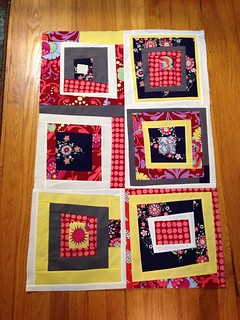 Bee quilt so far... Camp #3