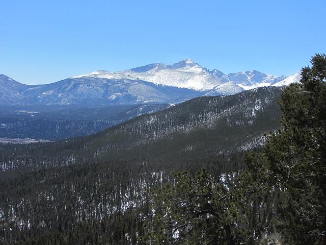 Longs Peak at Many Parks Curve