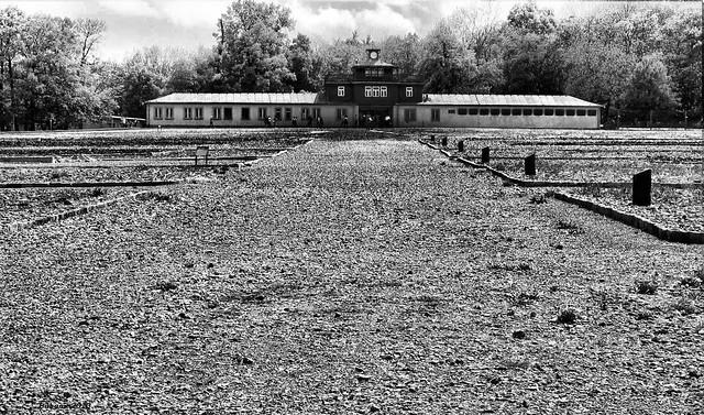 KZ Buchenwald - Eingangsgebäude
