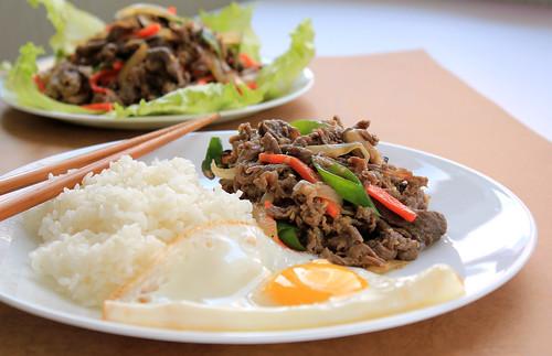 Korean marinated beef [Bulgogi] | by KFoodaddict