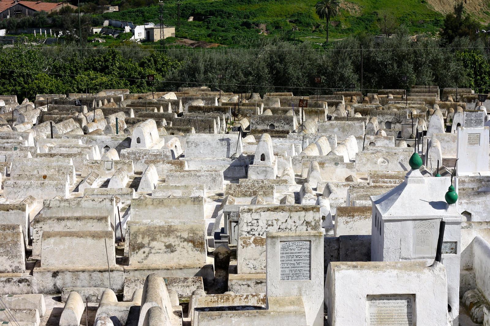 Jewish cemetery, Fez, Morocco