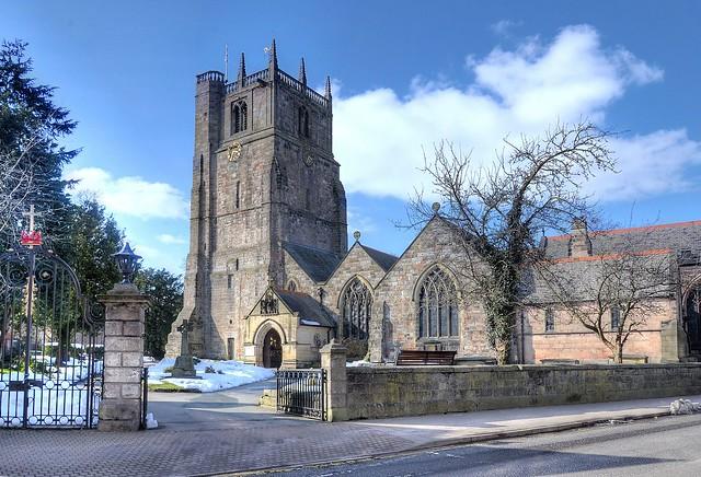 Oswestry Parish Church, Shropshire