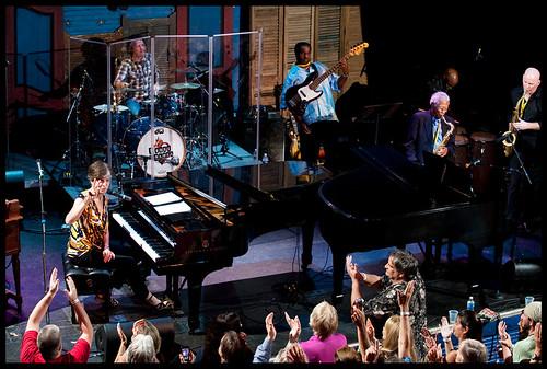 Marcia Ball at WWOZ's Piano Night.  Photo by Ryan Hodgson-Rigsbee www.rhrphoto.com