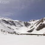 Bullhead Lake frozen over