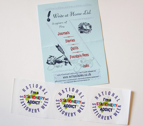 National Stationery Week Stickers   by GourmetPens