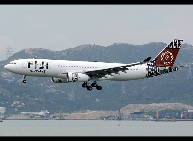 A330-243 | Fiji Airways | DQ-FJU | HKG
