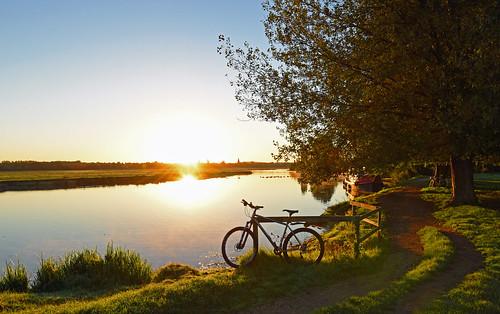 riverthames lynskeyridgeline29er oxford sunrise oxfordshire shimanoxt