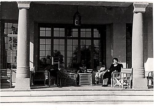 På Gimles terrasse.