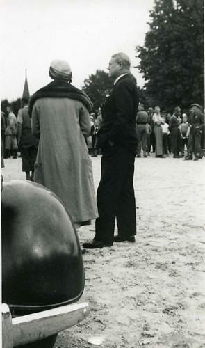 Maria og Vidkun Quisling, ukjent begivenhet, 1930-tallet.
