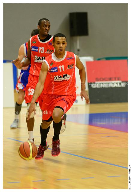 Branly Assim ESC Trappes-SQY Basket vs Caen