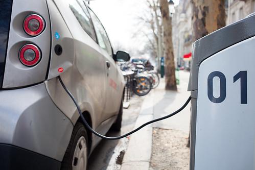 Electric car charging station | by Håkan Dahlström