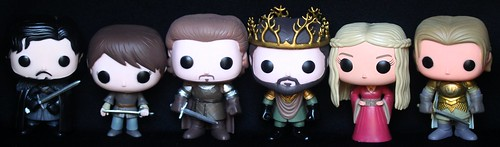 Game of Thrones POP Vinyls | by pullip_junk