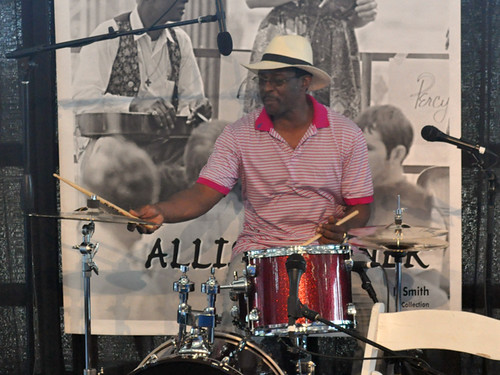 Herlin Riley at the Allison Miner Music Heritage Stage