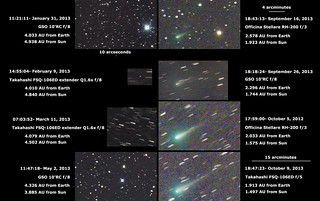 C/2012 S1 ISON January 31 - October 9, 2013 | by hirocun