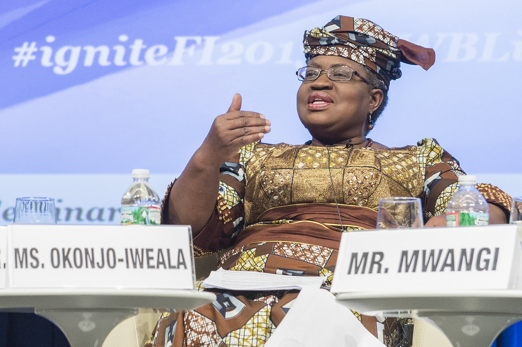 Ngozi Okonjo-Iweala, Minister of Finance, Federal Republic of Nigeria, panelist, Igniting Innovation in Financial Access: Public & Private Approaches for Greater Access by 2020