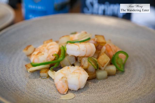 Ouzo shrimp