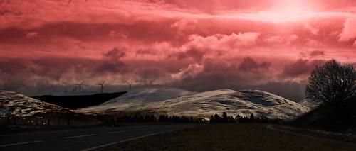 sunset snow scotland glasgow hills mywinners sonyalphaa300 mygearandme blinkagain flickrbronzetrophygroup photographyforrecreation flickrsfinestimages1 flickrsfinestimages2 flickrsfinestimages3