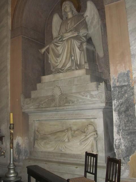 2012 S. Maria sopra Minerva c, Cappella Lante della Rovere c, Monumento Funebre di Maria Colonna 1840