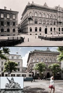 Gothenburg, Inom Vallgraven 1900 / 2013