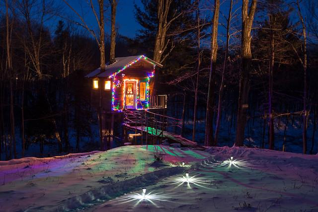 The Tiny Fern Forest Treehouse - Lincoln, VT - 2013, Feb - 01.jpg