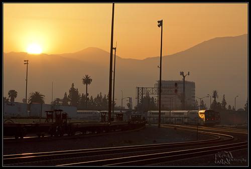 california railroad backlight train sunrise canon trains socal transportation canondslr locomotives railroads sanbernardino inlandempire 50d canon50d sbcusa kszokphotography