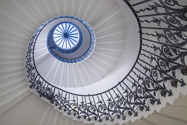 The Tulip Stairs at Queen's House