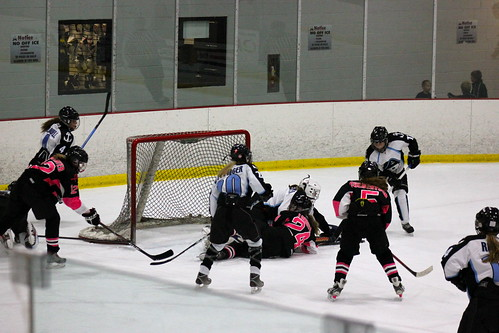 The 2012 Chicago Fury U14 AAA Girls Hockey Team vs the Milwaukee Jr. Admirals at Arctic Ice Arena on October 20th, 2012. | by old06cphotos