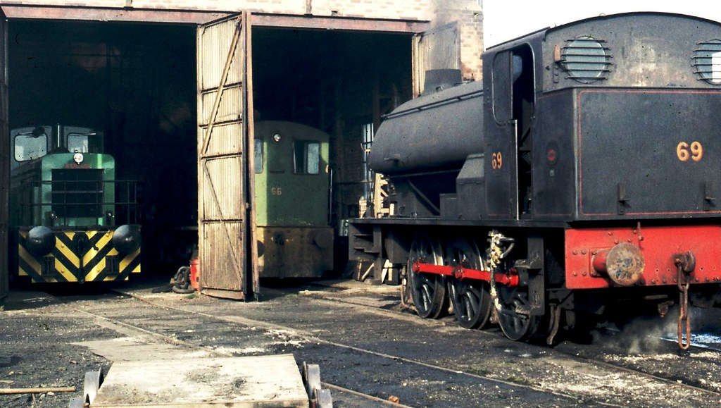 South Hetton's No. 69 on shed