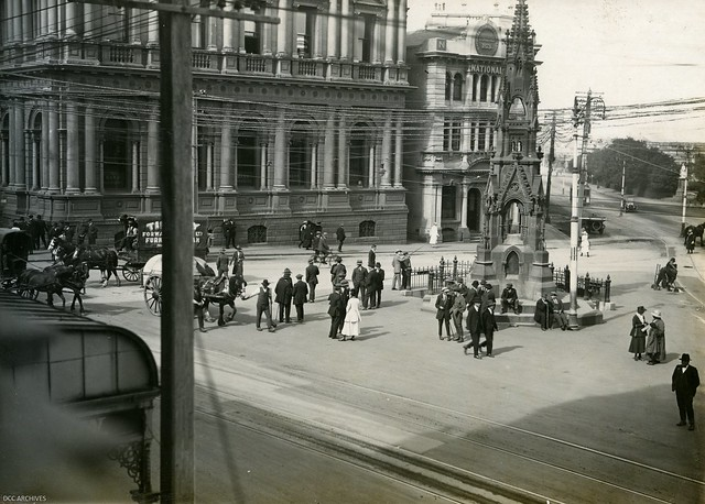 Comfort House Square (now the Exchange) Comfort Station, 1919