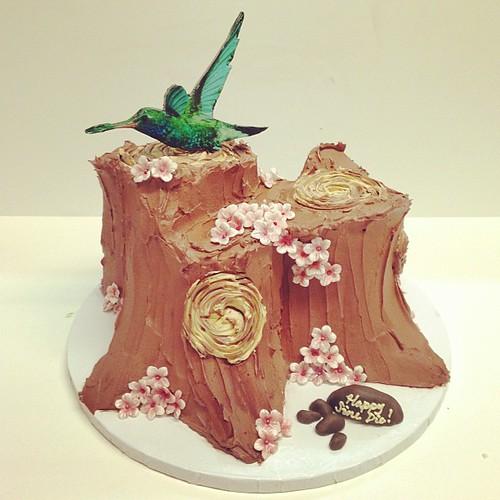 Hummingbird birthday cake #polkadotscupcakefactory | by Polkadots (Olga)