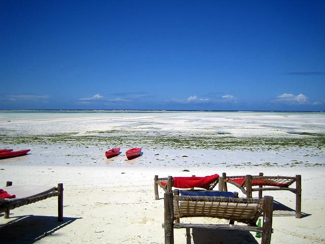 Relax on the beach - Pwani Mchangani, Zanzibar