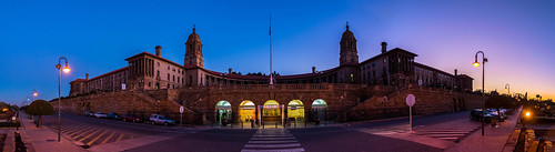 pretoria panorama panoramic night exposure nikon garden road unionbuilding sun southafrica sunset pano president jacobzuma nelsonmandela nikon5500 johannebsurg color colours colors street lights architecture historicalbuilding palace sky blue dawn dusk interesting verylongexposure 10stops leica