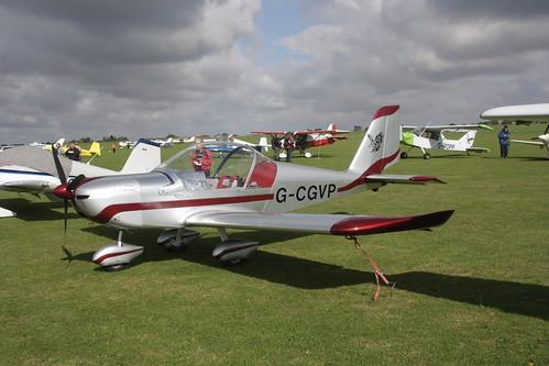 G-CGVP EV-97 Eurostar [LAA 315-15047] Sywell