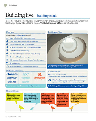 Building Magazine - May 2013