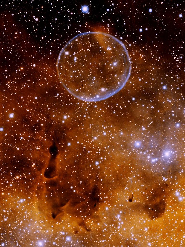 Soap Bubble Nebula Wallpaper Noao Image Of The Soap Bubble