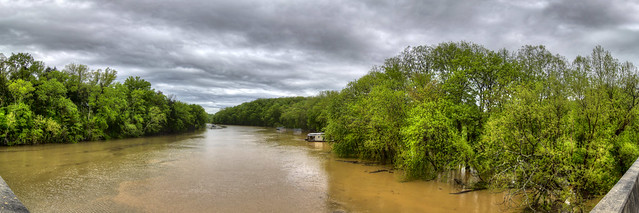Caney Fork River from Hodges Ferry rd, White Co, TN