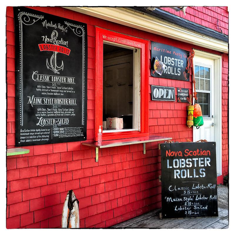 Nova Scotian Lobster Rolls