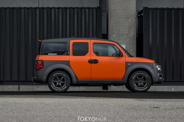 Honda Of America Element+Tokyonür Concept -Project Rocket Rally 2016-