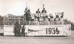 Crosby's Float 1939 Ivan and Dawn Noack in front