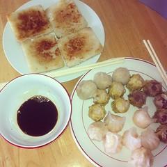 Dim Sum at Home! #ukig #hkig #food #foodgasm #foodporn #foodgraphy #southampton #dimsum #uni #student #siumai #china #hongkong #asian #brunch #lunch